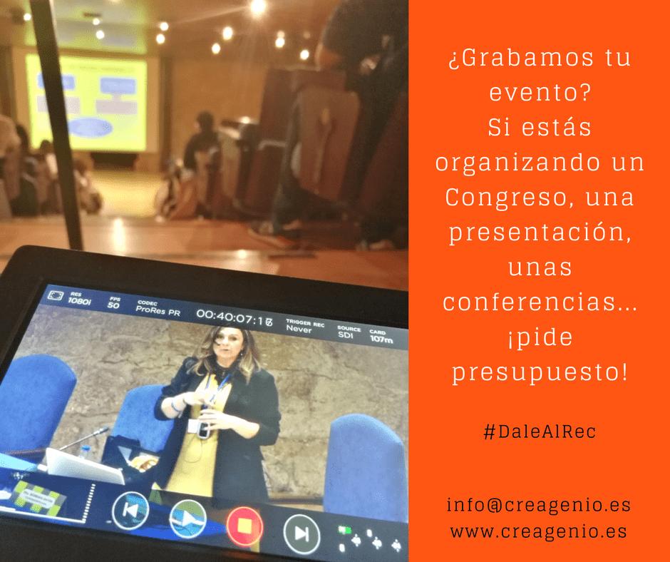 grabación de eventos en Asturias - Oviedo - Gijón - Avilés