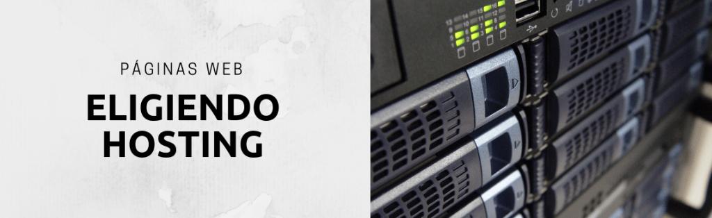 Eligiendo hosting para tu web en WordPress